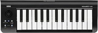KORG 定番 ワイヤレス MIDIキーボード microKEY Air-25 音楽制作 DTM 省スペースで自宅制作に最適 持ち運び すぐに始められるソフトウェアライセンス込み 25鍵