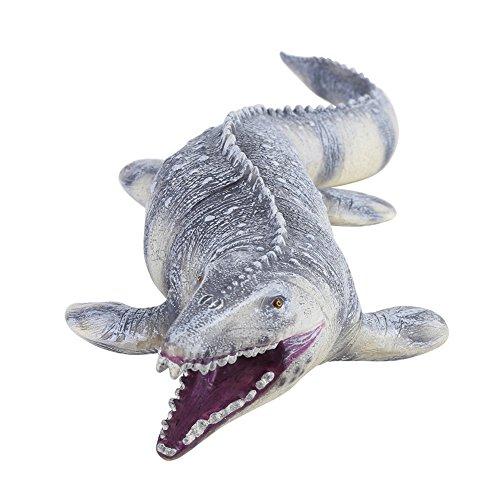 45cm Modelo Realista de Mosasaurus, Modelo de Animal de Dinosaurio Largo Figuras de acción Modelo de Juguete Suave réplica para niños pequeño Gran Regalo de Fiesta coleccionistas de Favor