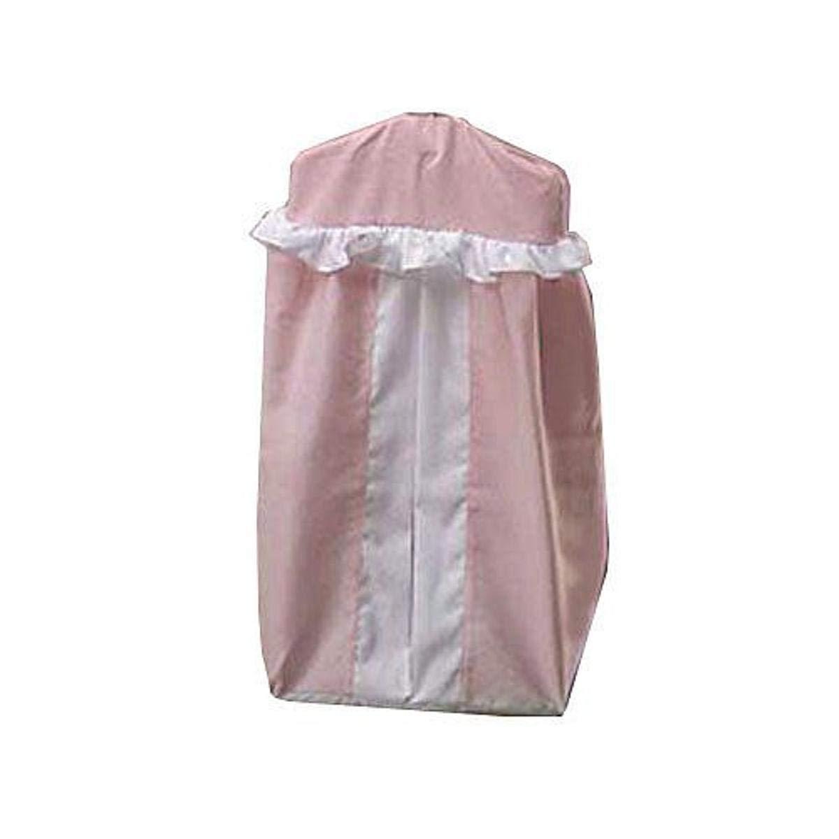 Baby Doll Bedding Regal Pique Diaper Stacker, Pink