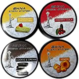 EKNA Steam Stones 4 X 120 g – narghilè senza nicotina – Set per narghilè senza nicotina – Set di pietre per narghilè