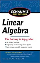 Best schaum's easy outline of linear algebra Reviews