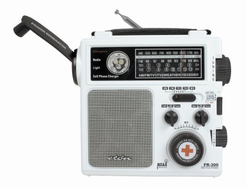 American Red Cross FR300 Emergency Radio, White (Discontinued by Manufacturer)