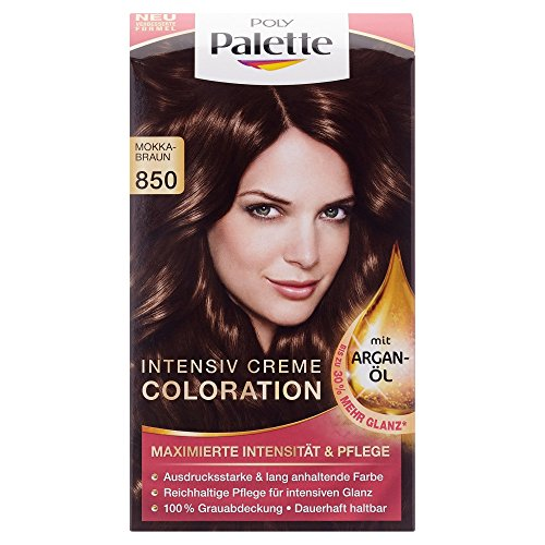 Poly Palette Coloration Stufe 3, 850 Mokkabraun, 115 ml
