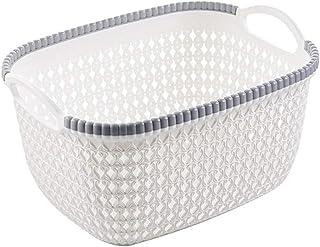 Mamum Panier de Rangement - Caisse de Débris de Cosmétiques de Cuisine à laver panier à fruits de Boîte de Finition de Bur...