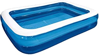 kxry Inflatable Pool Large Thickened Above Ground Family Interaction Summer Swimming Pools for Kids and Adults,Garden, Backyard, Outdoor