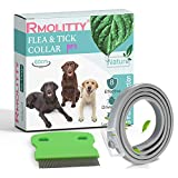 Rmoliity Flea and Tick Collar for Dogs, 8 Month Tick and Flea Control