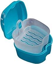 EXCEART Przenośny pojemnik na prototypowe ząbki do przechowywania, małe pudełko do przechowywania z wiszącym pojemnikiem z...