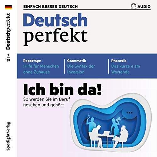 Couverture de Deutsch perfekt Audio. 07/2019