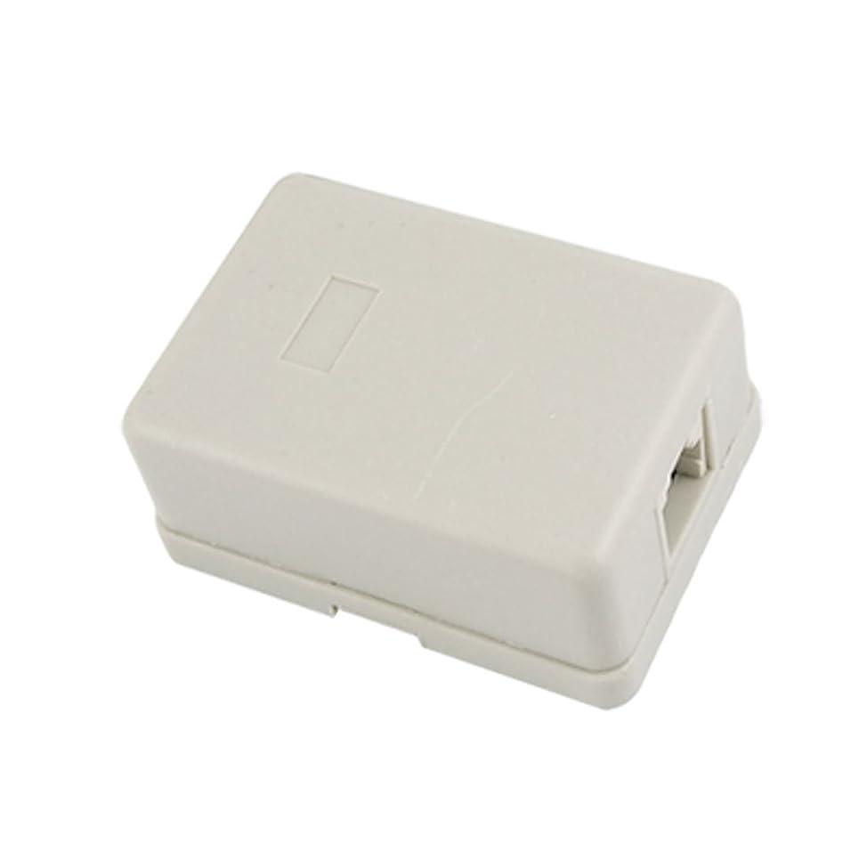 予感頼むかんたんuxcell 接続ブロック 電話用 メス RJ11 ウォール マウントジャック
