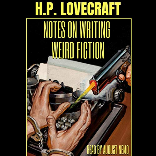 『Notes on Writing Weird Fiction』のカバーアート
