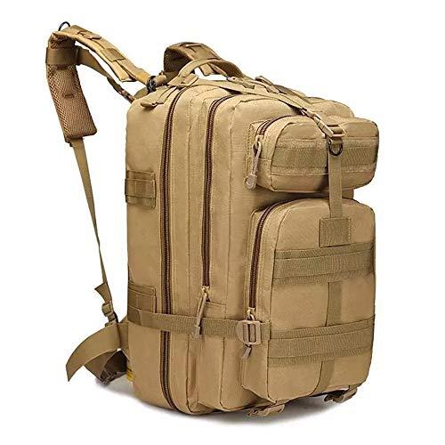 zhenshi Large Capacity Outdoor Military Backpack Rucksacks Waterproof Bug Tactical Backpacks Trekking Camping Hunting Bag (Color : 56x28x25cm Color 20)