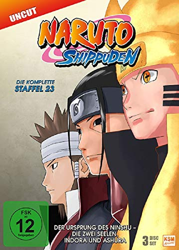 Staffel 23: Der Ursprung des Ninshu - Die zwei Seelen, Indora und Ashura (3 DVDs)