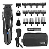 Wahl Aqua Blade Rechargeable Wet Dry Lithium Ion Deluxe Trimming Kit with 4 Interchangeable Heads...