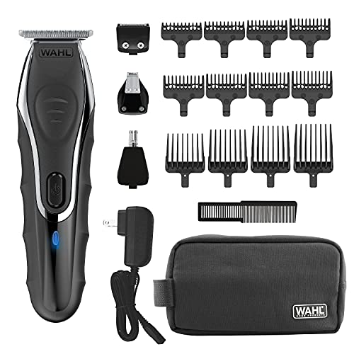 Wahl Aqua Blade Rechargeable Wet Dry Lithium Ion Deluxe Trimming Kit...