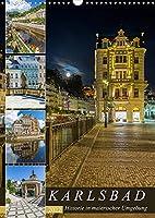 KARLSBAD Historie in malerischer Umgebung (Wandkalender 2022 DIN A3 hoch): Highlight im Westboehmischen Baederdreieck (Monatskalender, 14 Seiten )