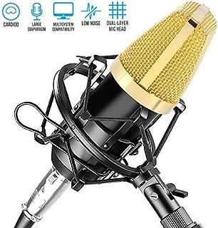 ELEGIANT Pyle PDMIC71 - Micrófono de Condensador de 3,5 mm, micrófono de grabación, micrófono de computadora, Podcast, gra...