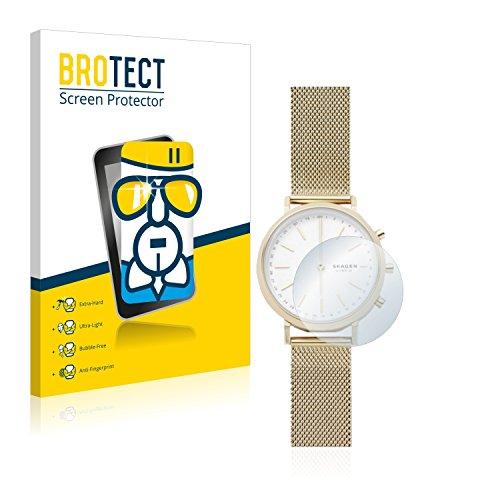 BROTECT Protector Pantalla Cristal Compatible con Skagen Hybrid Smartwatch Mini Hald (34 mm) Protector Pantalla Vidrio - Dureza Extrema, Anti-Huellas