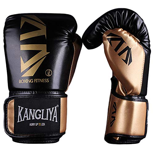 FitTrek Bokshandschoenen - Bokstraining Handschoenen voor Ponsen Sparring - Bokszak Bokszak Handschoenen - Bokszak Wanten - Muay Thai Kickboxing MMA Martial Arts Workout Handschoenen voor Heren Dames Kinderen