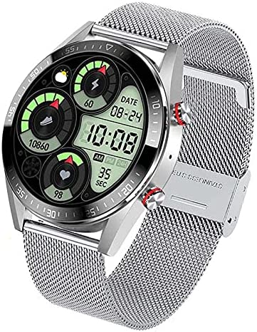 Smart Chicago Mall Watch for Men Bluetooth Fitness Max 63% OFF with Mo Heart Rate Tracker