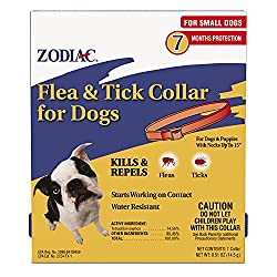Zodiac Flea & Tick Dog Collar for Small Dogs & Puppies