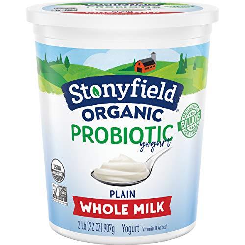 Stonyfield Organic Whole Milk Plain Yogurt | Amazon