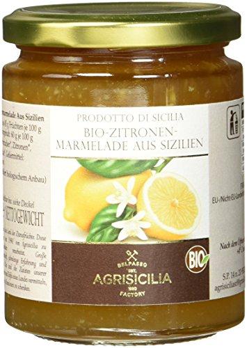 Agrisicilia Sizilianische Zitronen-Marmelade, 6er Pack (6 x 360 g)