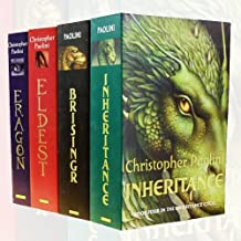 Inheritance Cycle Christopher Paolini Collection 4 Books Bundle (Inheritance, Brisingr, Eldest, Eragon)