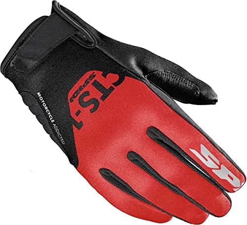 Spidi CTS-1 Damen Motorrad Handschuhe Schwarz/Rot XS