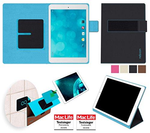 reboon Hülle für Blaupunkt Polaris QC Tasche Cover Hülle Bumper | Testsieger | Schwarz