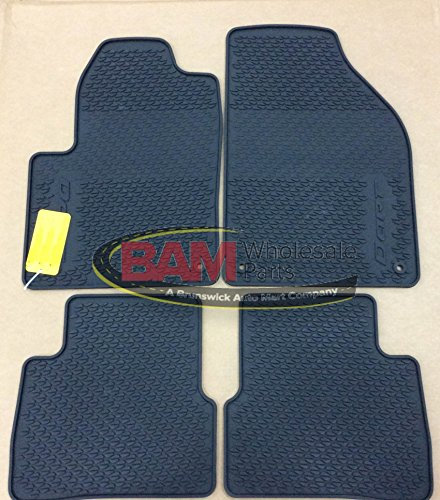 2013 Dodge Dart All Weather Slush Floor Mats