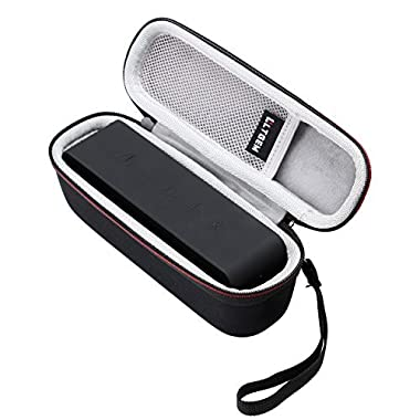 LTGEM Hard Case for Anker SoundCore or DKnight MagicBox I and II Portable Bluetooth Speaker with Mesh Pocket-Black