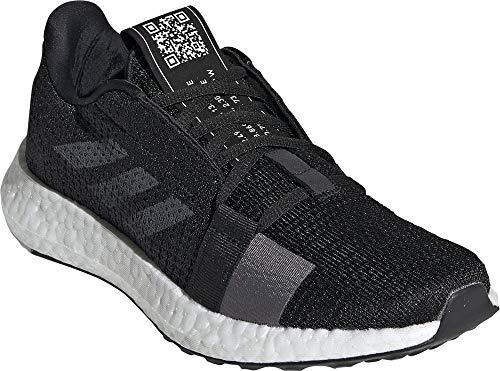 adidas Mujer Performance Senseboost Go Zapatos de Correr Negro, 42 2/3