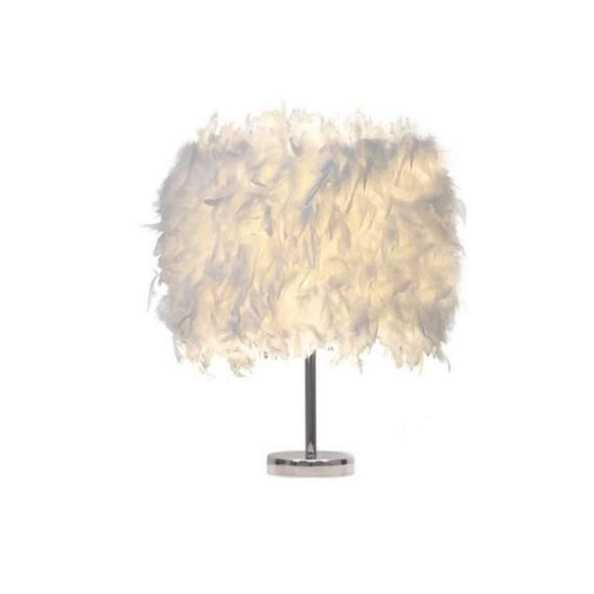 HAOYUSHANGMAO Creative table lamp led simple white romantic