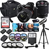Sony Alpha a7 II Mirrorless Digital Camera with FE 28-70mm f/3.5-5.6 OSS Lens + Photo/Video Editing Software Bundle with Professional Accessory Kit