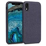kwmobile Hülle kompatibel mit Apple iPhone XR - Stoff Case