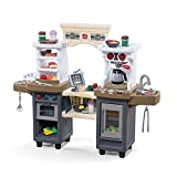 Step2 Coffee Bean Café and Kitchen Kids Playset, Gray