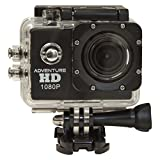 Cobra Electronics Adventure HD 5200 Sports & Action Video Camera, Black