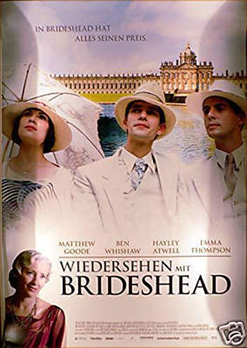 Wiedersehen mit Brideshead - Emma Thompson - Filmposter A1 84x60cm gerollt