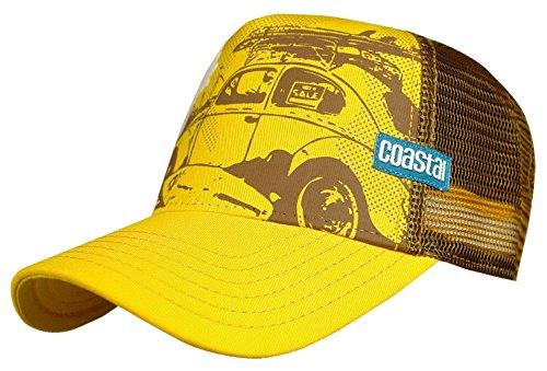 Coastal - Casquette trucker – Beetle Sun Yellow-jaune. - Jaune - Taille Unique