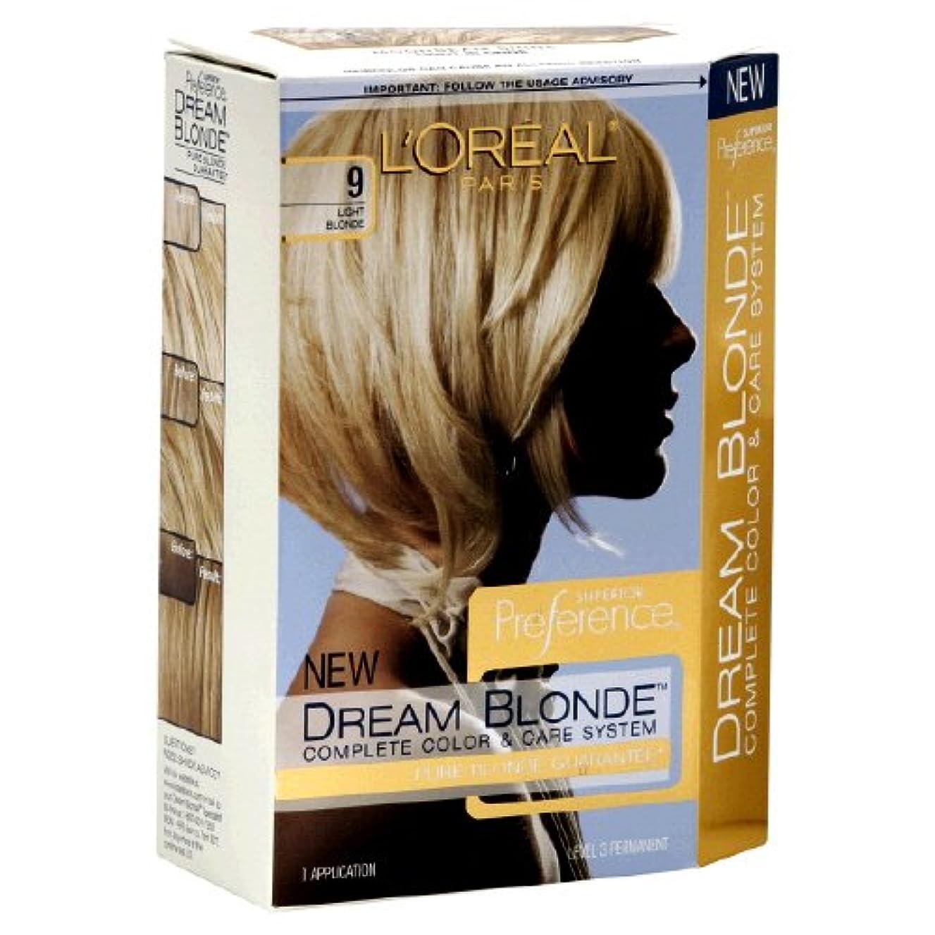 ラブ農村かき混ぜるL'Oreal Technique Preference - 9 Pastel Blonde - 59.1ml / 2oz