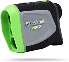 Precision Pro Golf, NX7 Golf Rangefinder, Laser Golf Rangefinder with Pulse Vibration, 400 Yard Range, 6X Magnification, 2-Year Warranty, Free Lifetime Battery Replacement Service