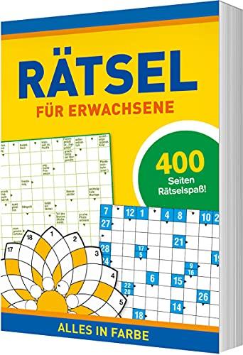 Rätsel für Erwachsene: 400 Seiten Rätselspaß