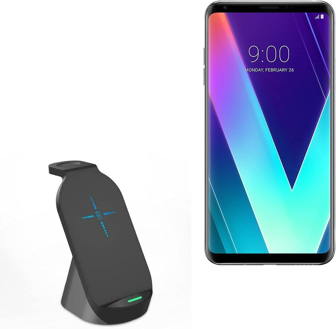 Charger for Limited time for free shipping LG V30S+ Phoenix Mall ThniQ BoxWave - by Wirele Compact
