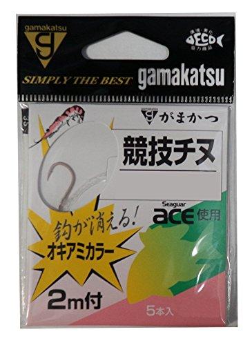 がまかつ(Gamakatsu) 糸付 競技チヌ(オキアミ) 2m 2号-ハリス1.5. 11240-2-1.5-07