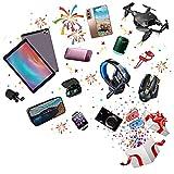 WANDK Caja De Misterio Productos Electrónicos, Cajas De Sorpresa, Sorpresas Desconocidas Y Diversión, Aleatorio 1-3 Electrónicos, Bienvenidos a Probar 3
