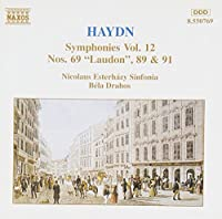 F. J. Haydn: Symphonies, Nos. 69, 89 & 91, Vol. 12 (1994-06-28)