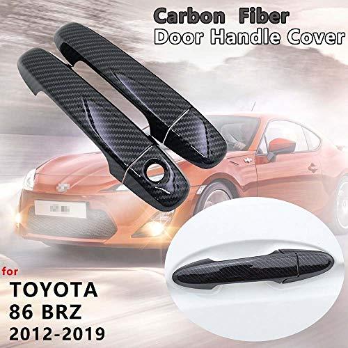 XIANGSHAN Carbon-Faser-Tuergriffabdeckung Fang Auto-Zubehör for Toyota 86 GT86 FT86 Subaru BRZ 2012 2013 2014 2015 2016 2017 2018 2019