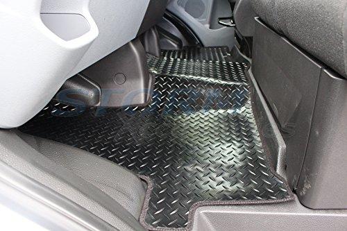Ford Transit MK82014–2015–1pieza Tailored Fit Alfombrilla de suelo de goma en color negro