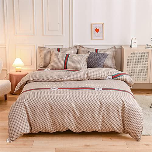 Muebles para El Hogar Pequeño Estilo De Algodón Fresco Absorbente De Sudor Transpirable Cómodo Agradable para La Piel Dormitorio para Dormir Habitación De Los Niños Ropa De Cama De Hotel 200x230cm