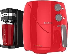 Kit Cadence Colors Vermelho - Fritadeira e Cafeteira O'Clock - 127V